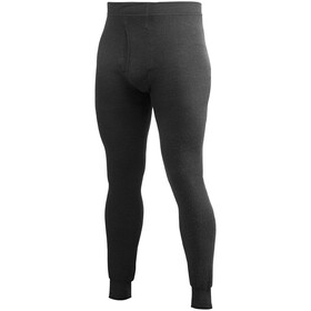 Woolpower 400 Long Johns with Fly Men, black
